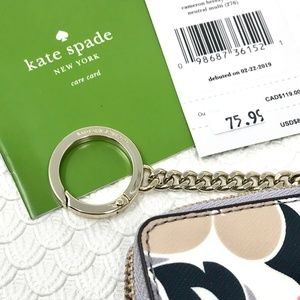 kate spade Accessories - KATE SPADE Breezy Cameron Floral  L-Zip Card Case